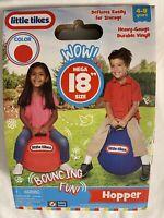 "NEW Little Tikes Mega Hopper Balloon Bouncing Ball Toy 18"" RED"