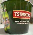 Tsingtao Beer Advertising Ice Bucket New! Collectible Advertising Pail