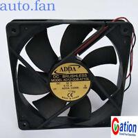 For ADDA AD1212DB-A71GL DC 12V 0.13A 2Pin 120x120x25mm Case Cooling Fan