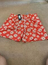 BNWT Marks And Spencers Blue Harbour Mens Swim Shorts Size XL WAIST 39-41 Inch
