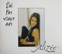 ALIZÉE : J'AI PAS VINGT ANS - [ CD SINGLE PROMO DIGIPACK ] MYLÈNE FARMER