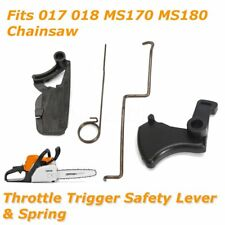 Throttle Trigger Safety Lever & Spring for Stihl 017 018 MS170 MS180 Chain Saws