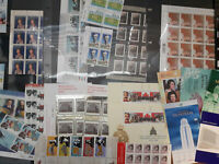 Lot of Unused Canada Postage Stamps $129.16 Face Value 1998-2006