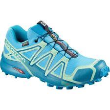 Scarpe Donna Salomon Speedcross 4 Gore-tex Trail Running 39 1/3 Col. Aquarius