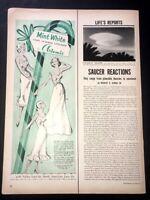 Life Magazine Ad MINT WHITE LINGERIE by ARTERMIS 1952 Ad