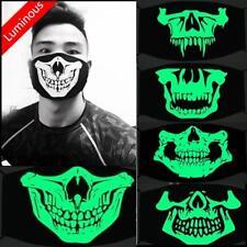 Halloween Mask Scary Skull Luminous Biker Motorcycle Party Horror Fishing UK