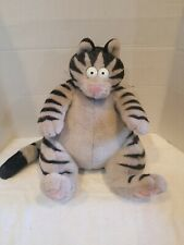 New listing H) Large 1989 Plush Kliban Cat Figure Pillow Plush Stuffed Cat Pillow