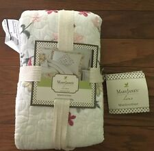 "Mary Janes Home Farm Sham - 20"" x 26""  100% Cotton Face-Garden Bouquet New"