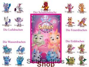 Safiras Drachen I - Die 4 Elemente Drachen - Einzelfiguren zum Auswählen!