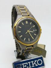 Pulsar PXD 054 SEIKO Titanium Quartz Mineral GlassWristwatch New