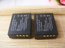 2 Batteries NP-W126 for Fuji FujiFilm FinePix X-Pro1 HS30 EXR HS33 EXR X-E2 X-T1