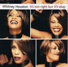 Whitney Houston: It's Not Right But It's Okay PROMO MUSIC AUDIO CD w/ Art 3641