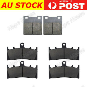 FRONT REAR Brake Pads for Kawasaki ZX7-R ZX 750 1996 - 2003