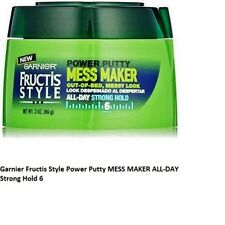 Garnier Fructis Style Power Putty MESS MAKER ALL-DAY Strong Hold 6 (2 PACK) 3oz