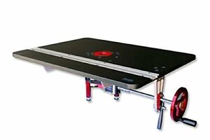 JessEm 02202 Mast-R-Lift Excel II Router Table Top With Built-In Router Lift