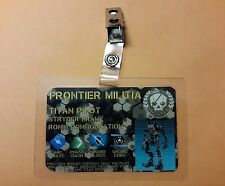 Titanfall 2 Identification Badge - Titan Pilote Stryder Cadre Prop Cosplay