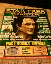 Original vintage STAR TREK book The magazine, Leonard Nimoy artikel etc. old