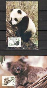 Austlalia- China, Joint issue maxima cards...........L  VF ++++.....B1-MS17-0003
