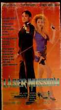 Laser Mission VHS Brandon Lee