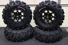 "KAWASAKI MULE SX 25"" XL BEAR CLAW  ATV TIRE & HURRICANE WHEEL KIT KAW1CA"