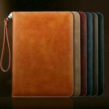Genuine Luxury Leather Smart Case Cover for iPad 9.7 10.2 10.5 11 12.9 Pro 2020