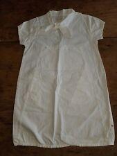 Girls 140-146 NONO Boutique White Sailor Summer Dress Netherlands 9-11 Years EUC