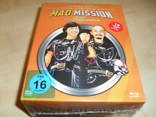 Mad Mission 1 - 5 / The Complete Edition / 18-Disc-Blu Ray-Box / Neu + OVP