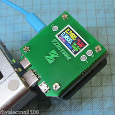 USB Load Tester YZXStudio ZL1100 with Cooling Fan QC2.0 3.0 0-3A QC MTK FCP
