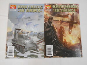 Brothers In Arms #1-4, (Dynamite), 7.0 FN/VF to 8.5 VF+