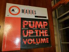 Marrs Pump Up The Volume LP
