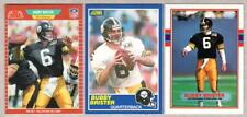 BUBBY BRISTER - All 3 Rookie card Lot - 1989 Score, Pro Set, Topps - STEELERS