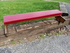 Antique Oak Church Kneeler 39 1/4 Long Repurpose Upcycle Shabby Chic 8 Available