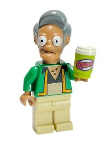 LEGO Collectible Minifigure 71005 Simpsons APU NAHASAPEEMAPETILON w Squishee Cup