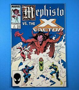 Mephisto vs. X-Factor #2 Marvel Comics 1987 Limited Series X-Men