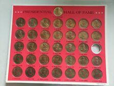Franklin Mint Presidential Hall of Fame Coin Set wit Booklet