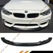 FOR 2015-2018 BMW F80 M3 F82 F83 M4 FRONT BUMPER CHIN LIP SPLITTER URETHANE BLK