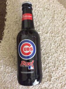 Budweiser large bottle Chicago Cubs