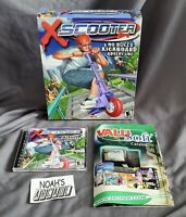 X Scooter Original ValuSoft PC Big Box Game XScooter Razor - Extremely Rare
