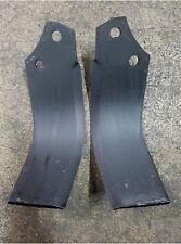 1 Each LH & RH Tiller Tines for John Deere models 647A & 647B LVU14881 LVU14482