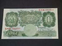 1950 £1 NOTE P.S BEALE ONE POUND IN UNCIRCULATED CONDITION. DUGGLEBY REF B268.