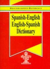 Spanish-English, English-Spanish Dictionary (Brockhampton Reference Series (Bil