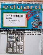 Eduard 1/72 SS558 Colour Zoom etch for AMK (Avant Garde) L-29 Delfin kit