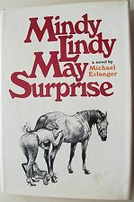 Mindy Lindy May Surprise by Michael Erlanger Hardcover Dust Jacket 1st Edition