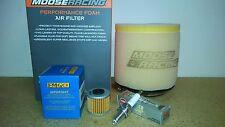 Honda TRX450R TRX 450R Sportrax Tune Up Kit Oil + Air Filter Iridium Spark Plug