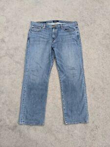 Lucky Brand Men's Jeans 363 Vintage Straight Size 38 X 30 Blue Denim