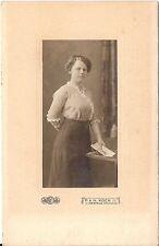 CAB photo Feine Dame / benannt - Crefeld Krefeld 1910er
