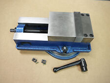"5"" PRECISION MILLING MACHINE VISE with SWIVEL BASE Pipefitter Gunsmith M850500"