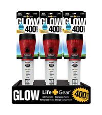 Life Gear  Glow  12 lumens Red  LED  Flashlight  AA Battery