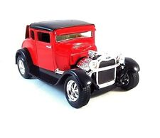 1929 FORD USA MODEL-A RED MAISTO 1/24 DIECAST CAR MODEL ,COLLECTOR'S MODEL , NEW