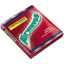 Airwaves Chewing Gum: CHERRY MENTHOL -Pack of 3 -Made in Germany